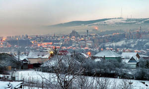 Foggy winter in Cluj by dgheban