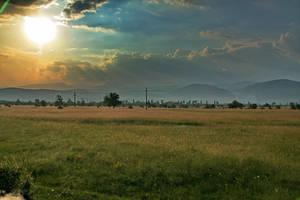 Sunset in Gorj by dgheban