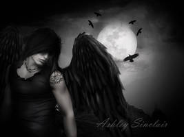 Thy Raven wings I by medieval-vampire121