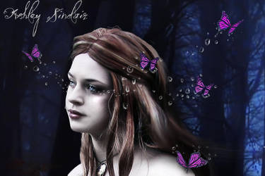 Butterfly tears close up by medieval-vampire121