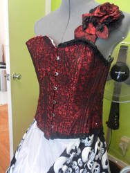 New Corset by medieval-vampire121