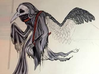 Reaper of time IN PROGRESS by medieval-vampire121
