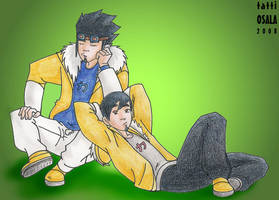 Ahito and Thran by tattiOsala