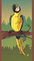bluegoldMACAW by tattiOsala