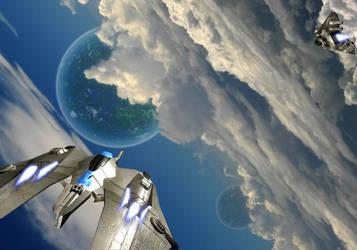 Cloud Dancers by st0rmblade