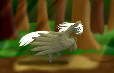 Galloping Pegasus by st0rmblade