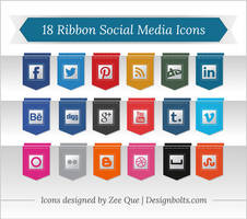 Free Premium Social Media Icons by Designbolts