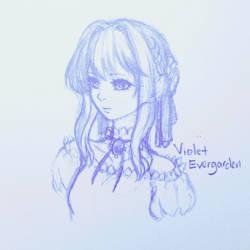 Violet Evergarden by HinaAzakura00