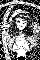Miss America Chavez by KR-Whalen