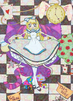 Alice in wonderland by Kawaiibearz