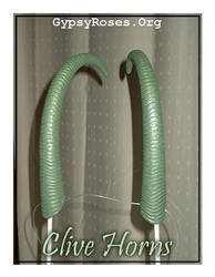 Clive Horns in Forest Green by che4u