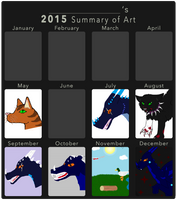 2015 Art Summary by Lamp-P0st