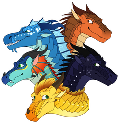 Dragonets of Destiny [WoF] by Lamp-P0st