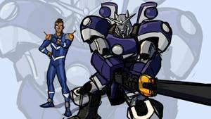 Gundam MeatandSarcasm by Drbuffalo