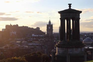 edinburgh by tsigane