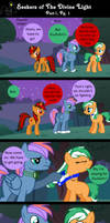 Seekers of The Divine Light Part 1/Pg 1 by EmoshyVinyl