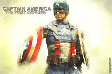 My hottoys collection : captain america_2 by HannaPhilip
