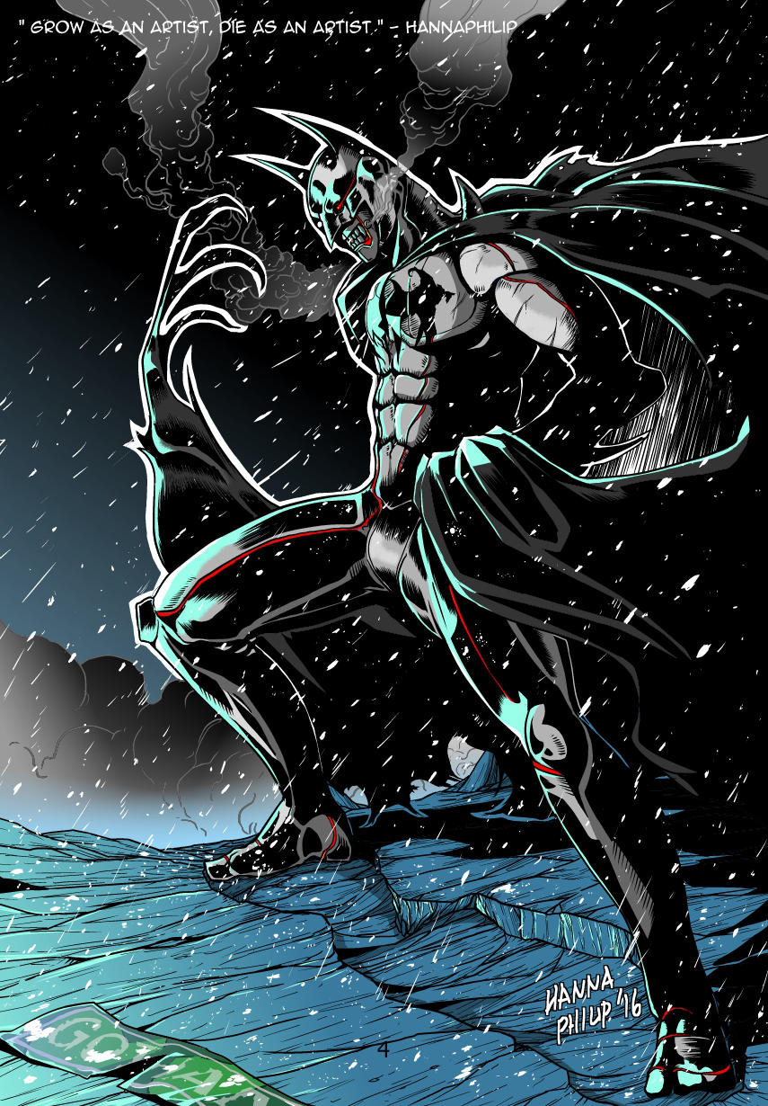 Demon Batman by HannaPhilip