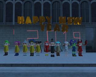HAPPY NEW YEAR by michaeldreemurr