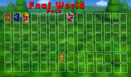 Fnaf World pack by FNaFWORLDCZ