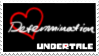 Undertale Soul Stamp - Red (Determination) by ItsumoCelestialSushi