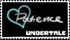 Undertale Soul Stamp - Light Blue (Patience) by ItsumoCelestialSushi