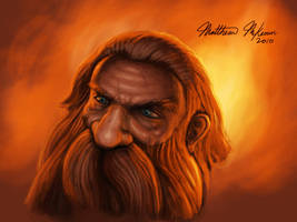 Dwarf Illustration by Kanaru92