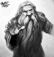 Dwarf Priest by Kanaru92