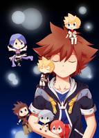 Kingdom Hearts - Hikari by akai-kuma