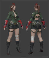 Cammy_Highpoly_Model by Bogdanbl4