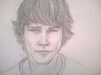 Jared Padalecki Aka Sam Winchester by Mwap