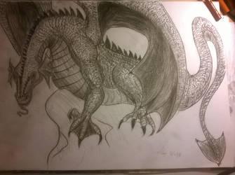 Dragon by Mwap