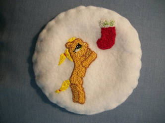 MLP-FIM Hand Embroidered Patch Applejack by grandmoonma