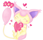 Skitty - Charm by Sigma-Astra