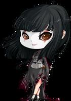 Dark Baby: Kuni Oharu by bunnbelle