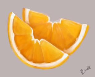sketch of oranges by lite33