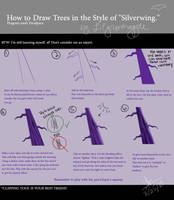 Silverwing Tree Tutorial by lilgrimmapple