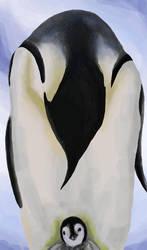 Speedpaint: Penguins by acorn23