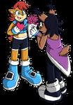 Sonic channel: Sallicole Valentines by Sarah-Herron