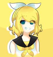 Rin Kagamine by 0LonelyOtaku0