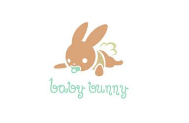 Baby Bunny Logo by MechanicalPumpkin