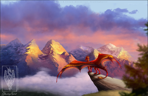 Age of dragons by GlowingSpirit