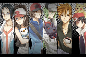 Pokemon Set by Van-Reille