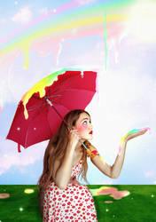 Melting Rainbow by AntonellaB