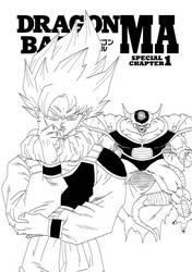 King Cold vs Goku by torrijos