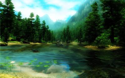 The Lake by Vicki73