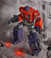 Optimus Prime by Tristiaa