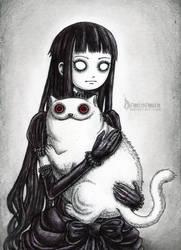 The Strange Cat by DemiseMAN