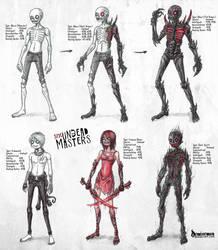 Undead Creatures by DemiseMAN