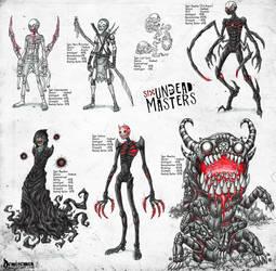 Undead Creatures 2 by DemiseMAN